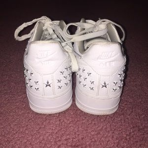 Nike Shoes - Star Studded Nike Air Force 1 Wmns 8 LE